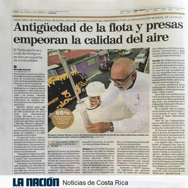 Artículo. La Nación de Costa Rica